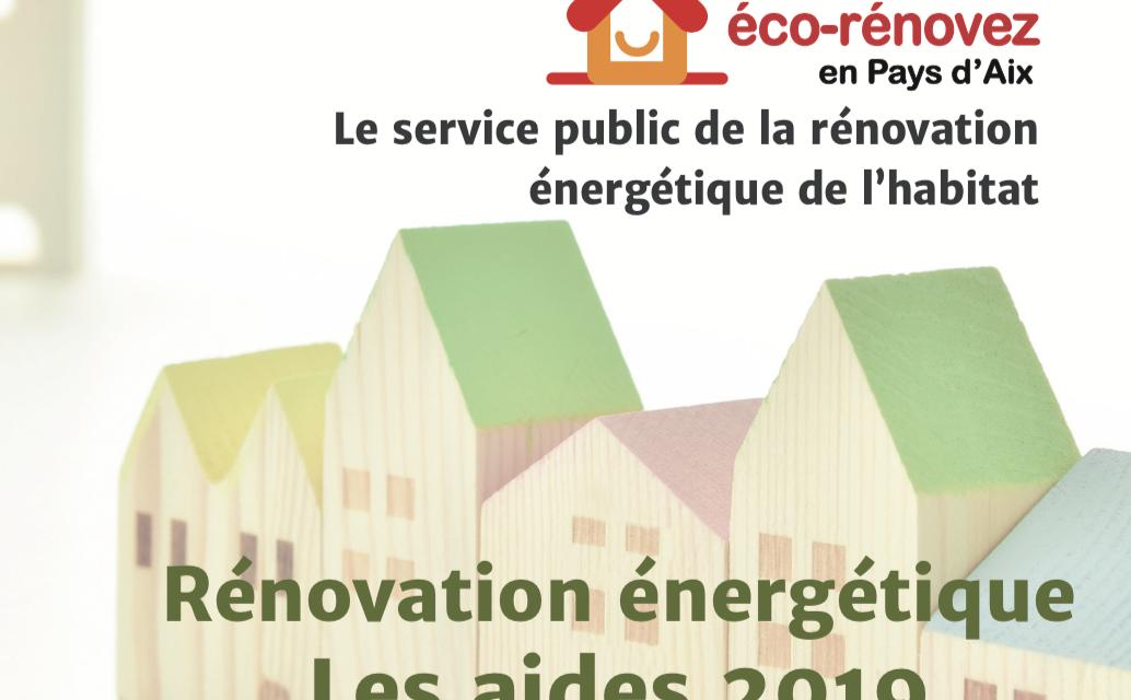 Le territoire du Pays d'Aix relance les aides à la rénovation énergétique