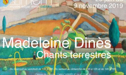 Exposition : Madeleine Dinès