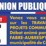 Réunion publique du 1er juillet 2019