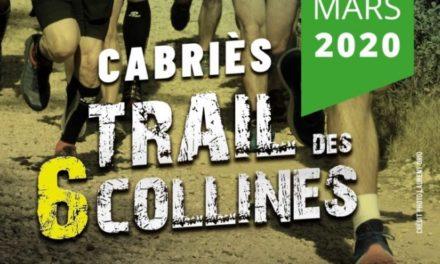 Trail des 6 collines le 8 mars 2020