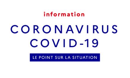 [INFORMATION COVID-19 : MAJ 24 MARS]
