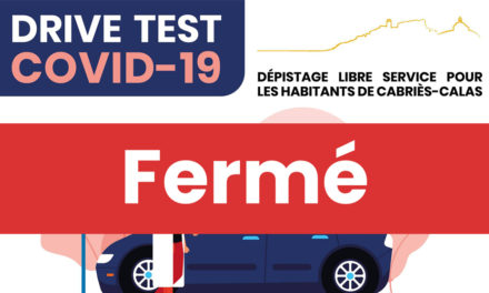 FERMETURE DU DRIVE #COVID19