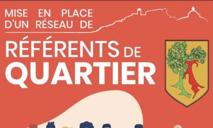 MISE EN PLACE DU RÉSEAU DE RÉFÉRENTS DE QUARTIER : Renforcer la démocratie participative en créant du lien de proximité