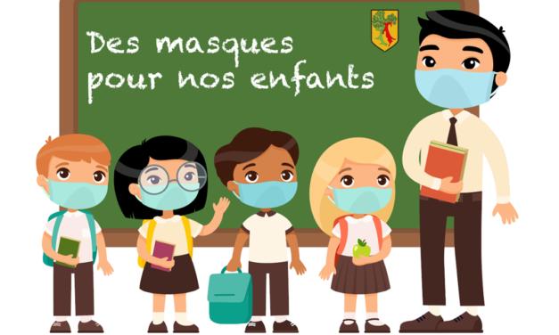 DES MASQUES POUR NOS ENFANTS
