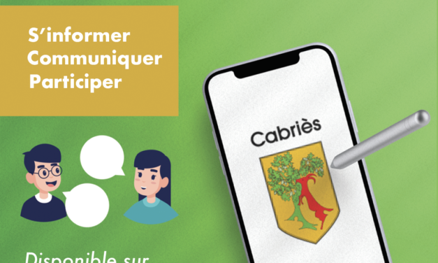 Lancement de l'application Cabriès