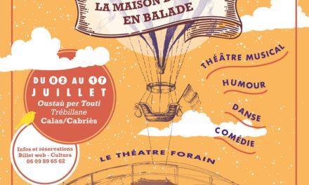 FESTIVAL : LA MAISON DES ARTS EN BALADE