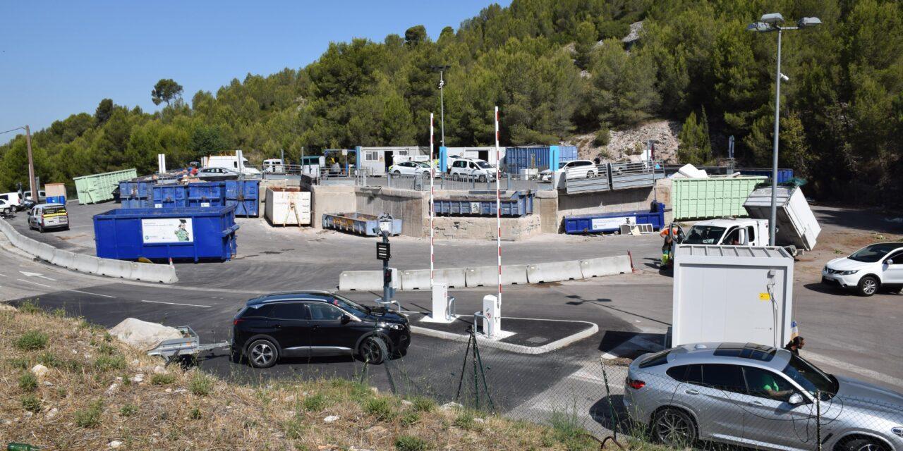DÉCHÈTERIE DE CABRIÈS-CALAS : PRÉSENTATION D'UN NOUVEAU SYSTÈME D'ACCÈS