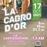 LA COURSE DE LA CABRE D'OR SAMEDI 16 & DIMANCHE 17 OCTOBRE